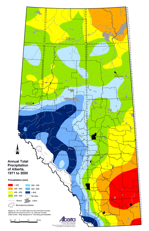 Agricultural Land Resource Atlas of Alberta Annual Total